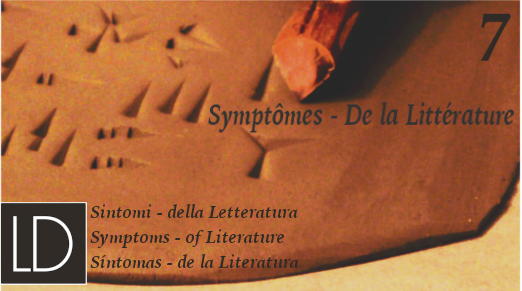 7. Symptoms – of Literature // OPEN CALL FOR PAPERS