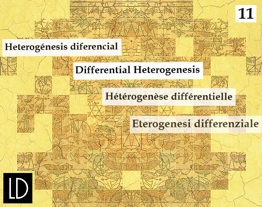 11. Differential Heterogenesis – OPEN CALL FOR PAPERS